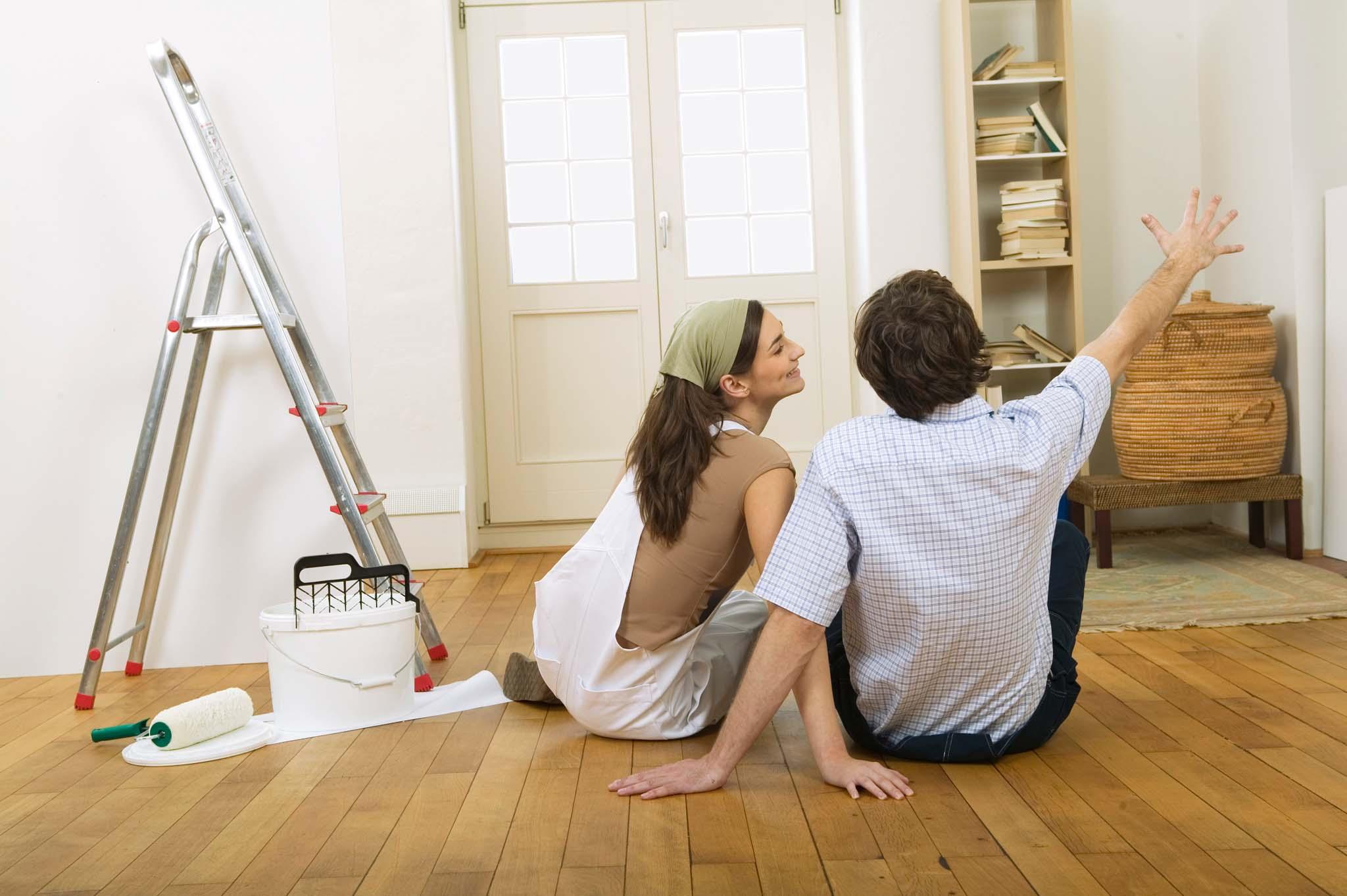 Смешные картинки муж с женой делают ремонт, мед